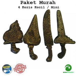 Paket Murah 4 Pcs Souvenir Miniatur Unik Antik