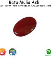 Batu Mulia Red Carnelian Permata Akik Darah Jumbo