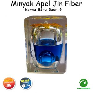 Minyak Jawa Apel Jin Warna Biru Daun 9