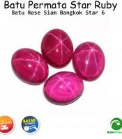 Batu Permata Star Ruby Rose Siam Bangkok