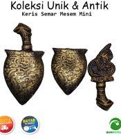 Souvenir Miniatur Kuningan Model Wayang Bodronoyo Tebal