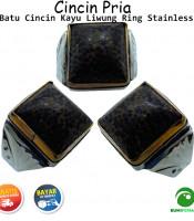 Cincin Kayu Liwung Ring Monel