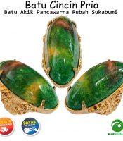Batu Cincin Akik Pancawarna Rubah Sukabumi