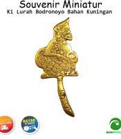 Souvenir Miniatur Pajangan Wesi Aji Kuningan Semar Lurah Bodronoyo