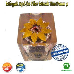 Minyak Jawa Apel Jin Daun 9 Warna Merah Tua