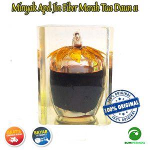 Minyak Jawa Apel Jin Daun 11 Warna Merah Tua