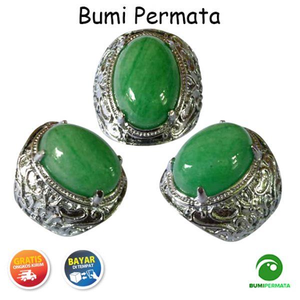 Batu Cincin Mulia Green Jade Aventurine Quartz 2