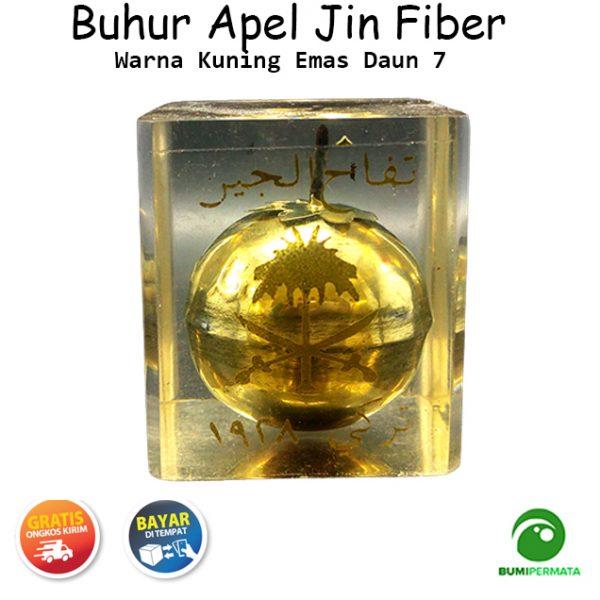 Buhur Apel Jin Emas Fiber Daun 7 Ukuran Kecil