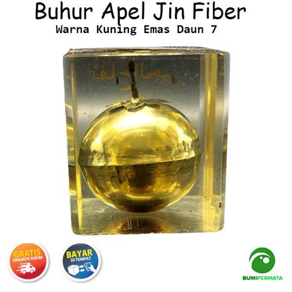 Buhur Apel Jin Emas Fiber Daun 7 Ukuran Kecil 3