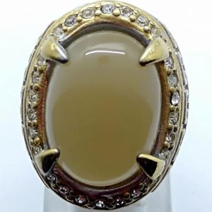 Cincin Batu Akik Lawu Pamor Awor RS508
