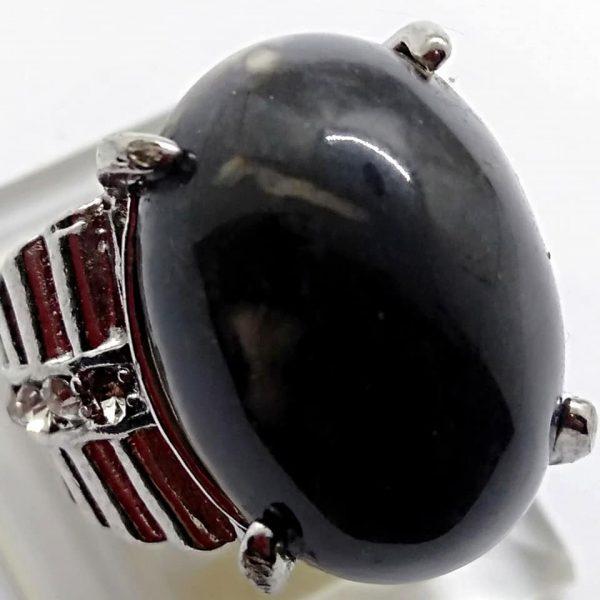 Cincin Batu Akik Segaluh Ireng RS524 2