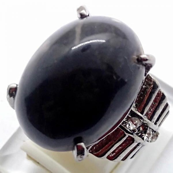 Cincin Batu Akik Segaluh Ireng RS524 3