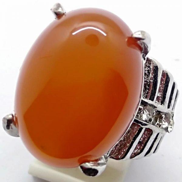 Cincin Batu Akik Slenggor Merah Ati RS525 3