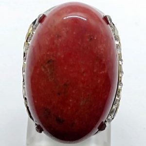 Cincin Batu Akik Sungai Merah RS506