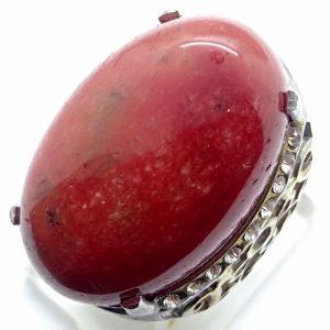 Cincin Batu Akik Sungai Merah RS506 2