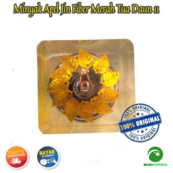 Minyak Jawa Apel Jin Daun 11 Warna Merah Tua 4