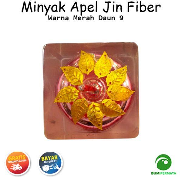 Minyak Jawa Apel Jin Daun 9 Warna Merah 3