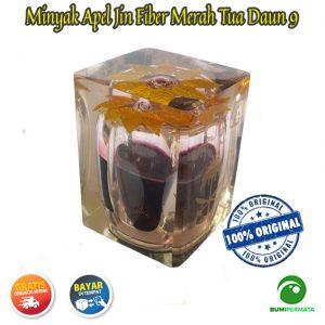 Minyak Jawa Apel Jin Daun 9 Warna Merah Tua 3