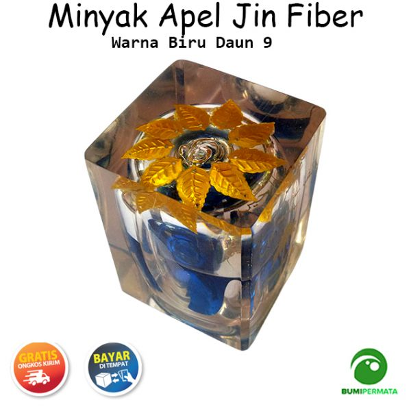 Minyak Jawa Apel Jin Warna Biru Daun 9 1