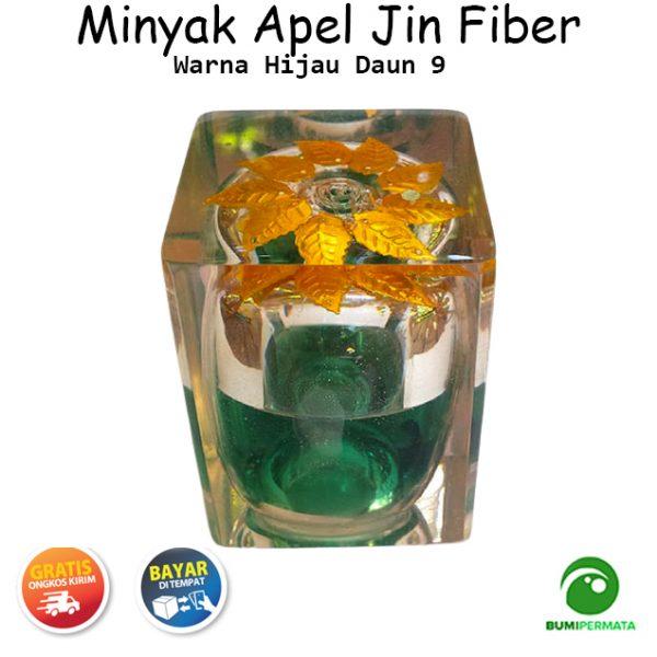 Minyak Jawa Apel Jin Warna Hijau Daun 9