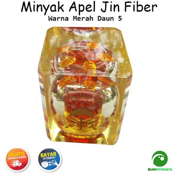 Minyak Jawa Apel Jin Warna Merah Daun 5 3