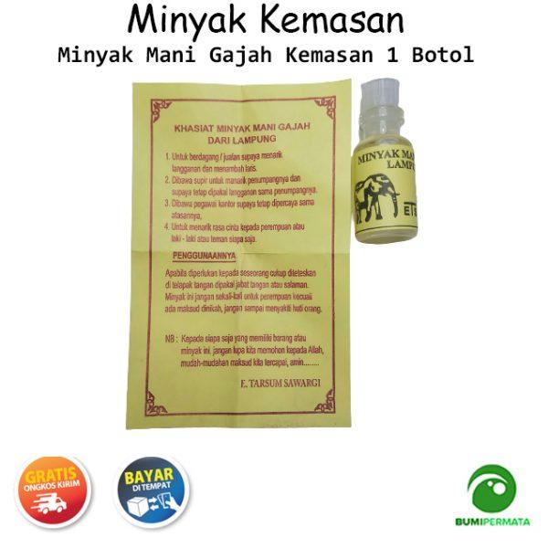 Minyak Mani Gajah Lampung