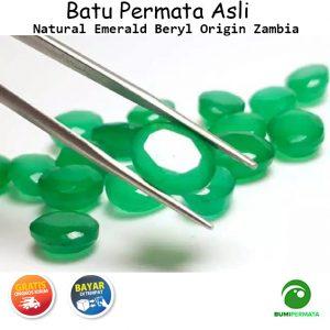 Natural Emerald Beryl Zamrud Zambia
