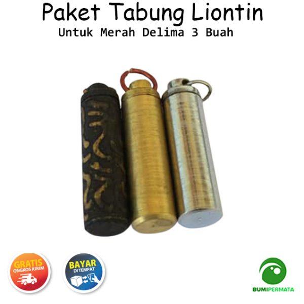 Paket Murah Liontin Tabung Untuk Merah Delima