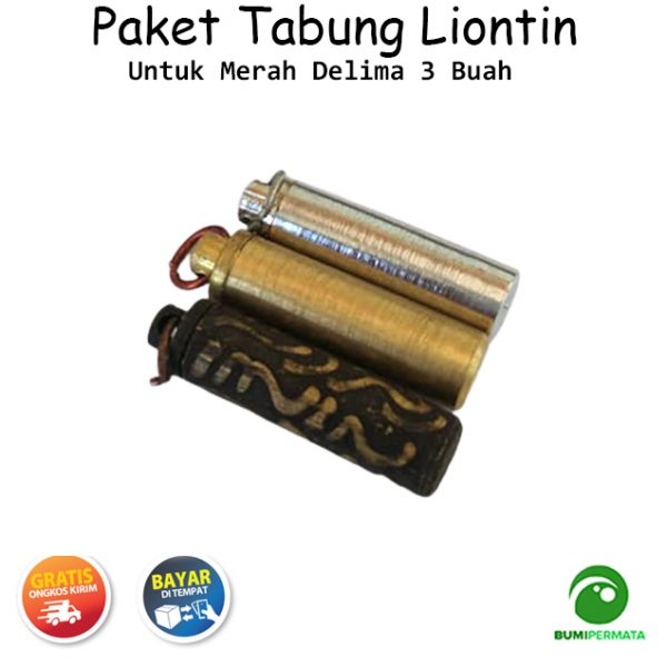 Paket Murah Liontin Tabung Untuk Merah Delima 1