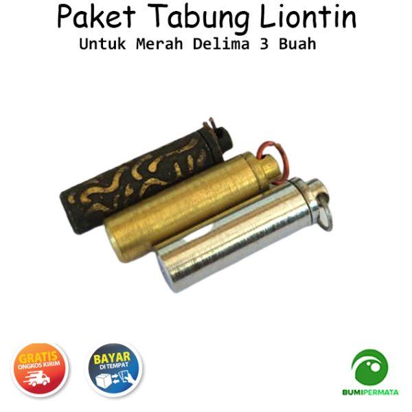 Paket Murah Liontin Tabung Untuk Merah Delima 2
