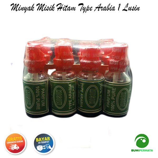 Parfum Minyak Wangi Misik Hitam Type Arabia 1 Lusin 2