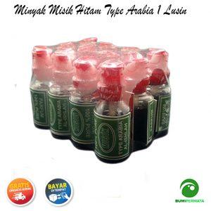Parfum Minyak Wangi Misik Hitam Type Arabia 1 Lusin 3