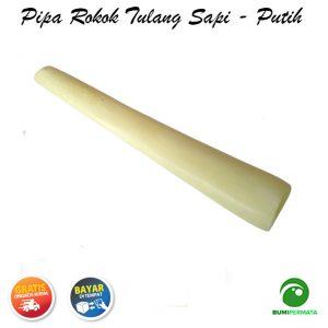 Pipa Rokok Dari Tulang Sapi Paling Laris – Putih 1