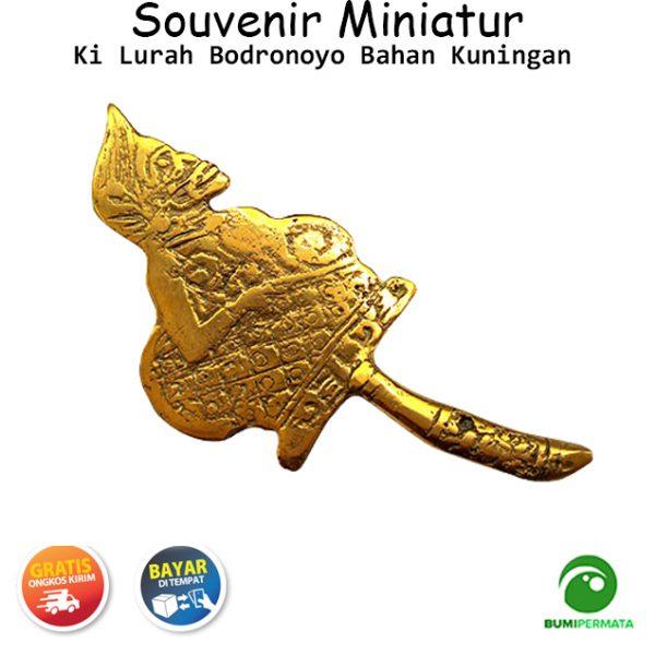 Souvenir Miniatur Pajangan Wesi Aji Kuningan Semar Lurah Bodronoyo 1