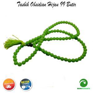 Tasbih Green Obsidian 99 Butir