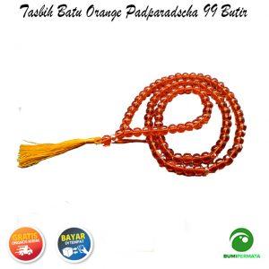 Tasbih Orange Padparascha 99 Butir 2