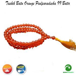 Tasbih Orange Padparascha 99 Butir 3