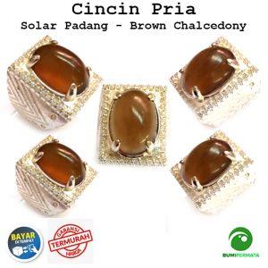 Batu Cincin Akik Mulia Solar Padang Kristal