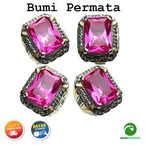 Batu Cincin Akik Rose Siam Bangkok Super Istimewa Model Kotak 1
