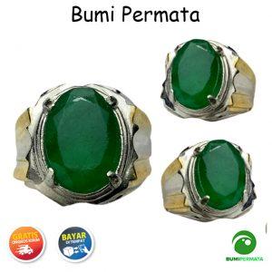 Batu Cincin Natural Emerald Beryl Zambia 1