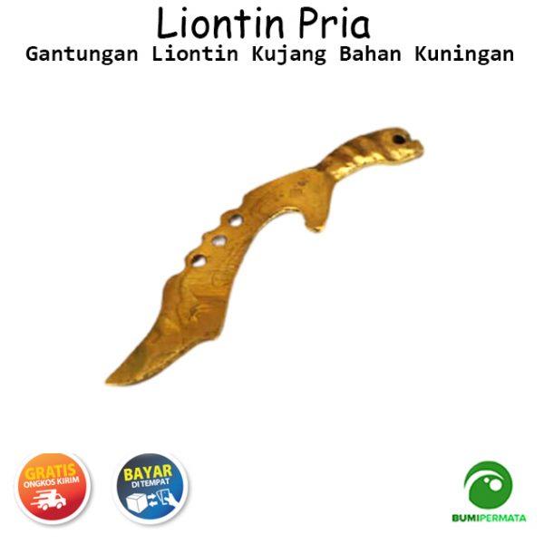 Gantungan Kalung Liontin Kujang Kuningan 3