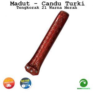 Madat Candu Turki Tengkorak 21 Warna Merah