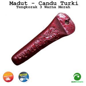 Madat Candu Turki Tengkorak 3 Warna Merah