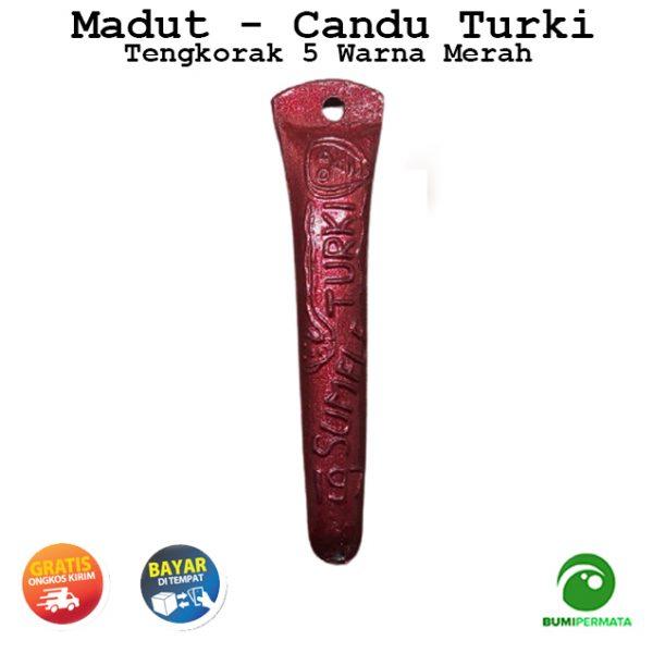 Madat Candu Turki Tengkorak 5 Warna Merah 1