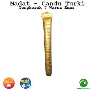 Madat Candu Turki Tengkorak 7 Warna Kuning 1