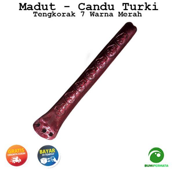 Madat Candu Turki Tengkorak 7 Warna Merah 2