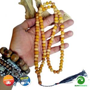 Tasbih Kayu Secang Kayu Delima Merah Brahma Asli Original Berkhasiat Untuk Kesehatan 1