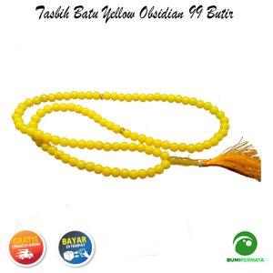 Tasbih Yellow Obsidian 99 Butir 3